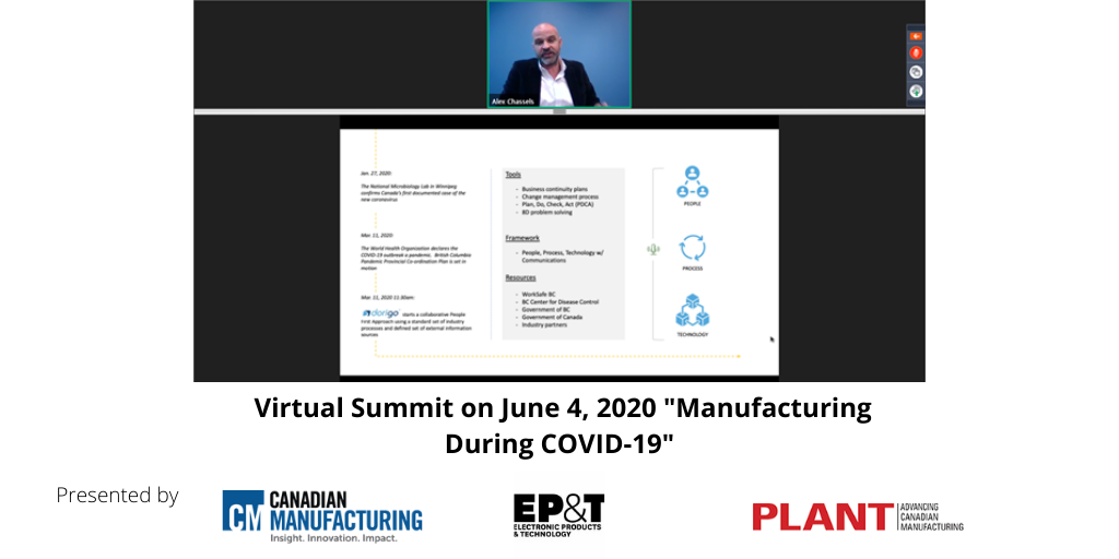 Manufacturing During COVID-19 Virtual Summit