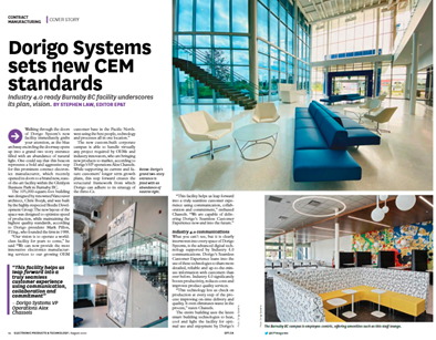 Dorigo Systems Sets New CEM Standards – EP&T Feature
