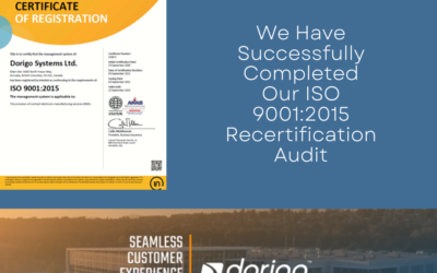 Dorigo Systems Successfully Completes ISO 9001:2015 Recertification Audit